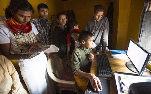 REBUILDING COLLAPSE PRIMARY SCHOOL FOR POOR CHILDERN